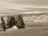 Barn over the Hill Photographic Print by Steve Bisig