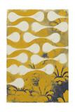 Yellow Pintura 5 Giclee Print by Sid Rativo