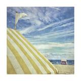 Congress Beach Giclee Print by Mimi Payne