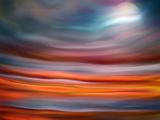Mondaufgang Alu-Dibond von Ursula Abresch