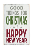 Good Tidings Giclee Print by  Barn Owl Primitives