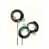Zen Circles D Premium Giclee Print by Natasha Marie