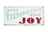 Good Tidings and Joy Giclee Print by  Barn Owl Primitives