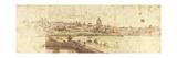 Campo Marzio from Prati Di Castello Kunstdrucke von Gaspar van Wittel