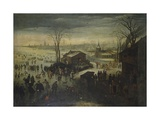 Winter Pastimes - Landscape under the Snow, 17th Century Posters