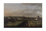 Vienna from the Belvedere Prints by Bernardo Bellotto