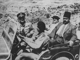 Arab Leaders Inspect the Battle Front in Palestine During the Jewish Insurgency Prints