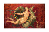 Nereid on a Sea Horse, C. 54-68 Art