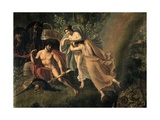 Thetis Comforting Achilles Prints by Luigi Ademollo