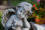 Sculpture of an Angel Photo by Frank May