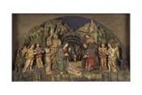 Nativity with Adoring Shepherds Posters by Ambrogio and Giovan Pietro Donati