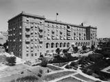 King David Hotel from Garden Side in Jerusalem, Palestine, in the 1930s Posters