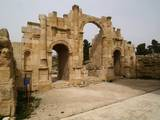 South Gate of the Jerash City Walls Built in 139 Photo