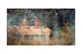 Gymnasium Still Life: Prizes, Bandages, Palms, C. 60 BC Prints