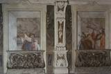 Gallant Scene in Tromp L'Oeil Fresco, Detail of Mural, C. 1770 Photo by Francesco Zugno