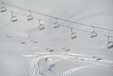 Ski Lifts in the Region of Bavarian Oberstdorf in Winter Photo by Frank May