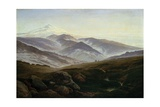 Riesengebirge Prints by Caspar David Friedrich