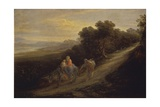 Landscape with Flight into Egypt Posters by Giovanni Carnovali