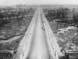 Tiergarten Park and the Boulevard Leading to the Brandenburg Gate after World War 2 Photo