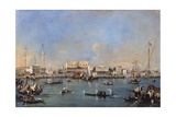 Venice from the Sea (Doge's Palace, St. Marks Square) Art by Francesco Guardi