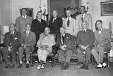 President Truman's Second Term Cabinet on Aug. 15, 1949 Photo