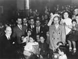 First Lady Eva Peron, Distributing Gifts to Children at the Eva Peron Foundation Photographie