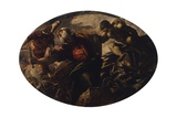 Sacrifice of Isaac Arte por Jacopo Robusti Tintoretto