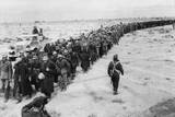 Long Line of German Prisoners Captured During the Battle of Libya Photo