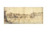 Sisto Bridge, Rome Posters by Gaspar van Wittel