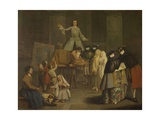 The Tooth-Puller Poster by Pietro Longhi