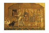 Noah Brings the Animals in the Ark, 1215-40, Saint Mark's Basilica, Venice, Italy Posters