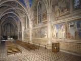 Basilica of San Francesco, Upper Church, 1228-53 Photo by  Giotto