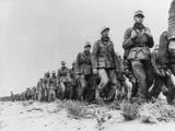 German Panzer Prisoners Captured During the Battle of Libya Photo