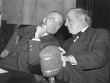 Senators Harry Truman and Tom Connally in an Off-Mike Conversation on Oct.31, 1941 Photo