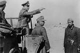 General Rommel Standing in Jeep in the North African Desert, Feb. 1-10, 1942, World War 2 Photo