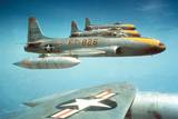F-80C Jet Fighters Fly in Formation Ca. 1950 Posters