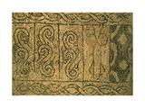 Floor Mosaic, Church of Saint John the Baptist, 13th C. Ravenna, Italy Posters