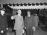 President Harry Truman and Prime Minister Liaquat Ali Khan of Pakistan in Washington, D.C. Photo