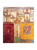 Mural with Narcissus and Architecture, C. 62-79 Posters