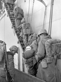 U.S. Marines Board a Ship for Evacuation from Hungnam, North Korea Photo