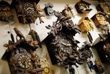 Cuckoo Clocks on the Wall in a Clock Museum Photo