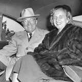 President Harry Truman and Daughter Margaret Returning from a Trip to Key West, Florida Photo