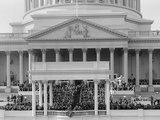 View of the President Harry Truman Delivering His Inaugural Address, Jan. 20, 1949 Photo