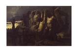 The Hostages of Crema (1162 Event During Barbarossa's Siege), 1870 Giclee Print by Gaetano Previati
