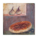 Still Life with Bread and Figs, 1st Century AD Posters