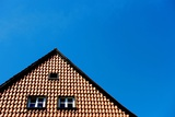 The Gable of a Residential House Photo