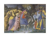 Entry of Christ into Jerusalem Poster by Luchino da Pavia