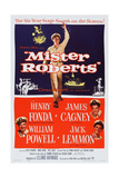 Mister Roberts, Henry Fonda, William Powell, James Cagney, Jack Lemmon, 1955 Prints