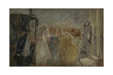 The Wedding Giclee Print by Gaetano Previati