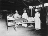 African American Army Nurses in Surgical Ward at Milne Bay, New Guinea, During World War 2 Photo